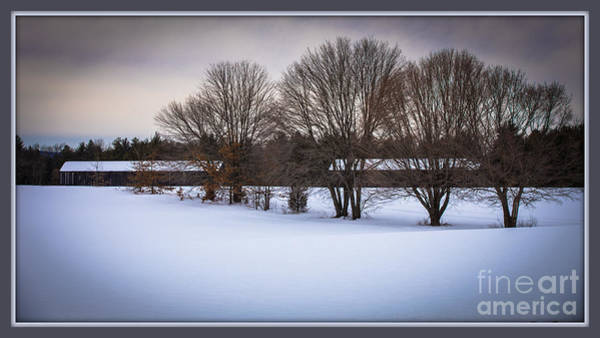Photograph - Winters Calm by Mary Lou Chmura
