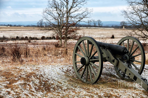 Photograph - Winter's Cannon by John Rizzuto