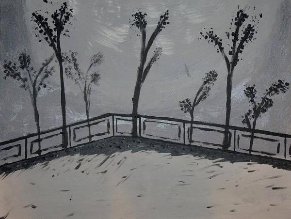 Ambiguous Painting - Winter's Edge by Joshua Enomoto
