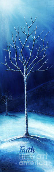 Painting - Winter's Hope by Shevon Johnson