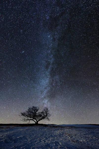 Photograph - Winter's Night by Aaron J Groen