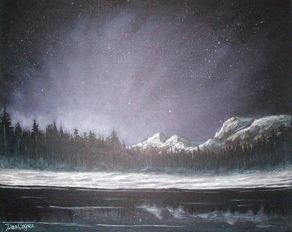 Painting - Winters Night by Dan Wagner