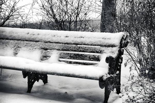 Photograph - Winter's Snow by John Rizzuto