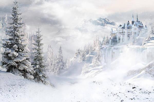Wall Art - Digital Art - Winters Tale by Shanina Conway