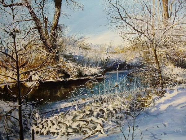 Painting - Winter's Touch by William Brody