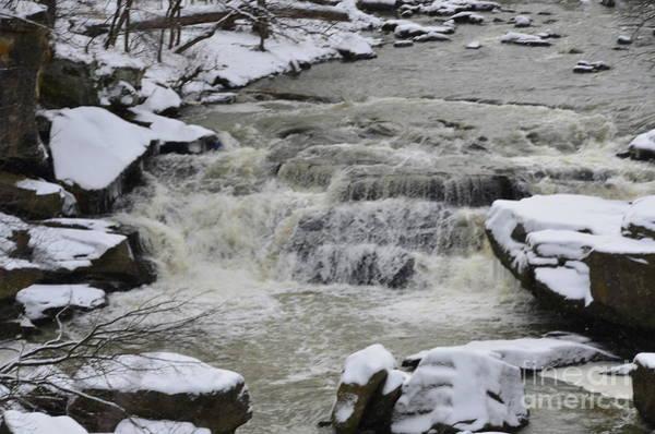 Photograph - Winters Waterfalls by Randy J Heath