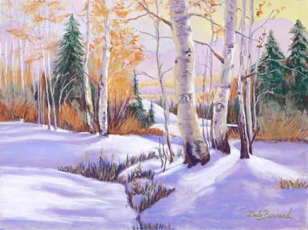 Pastel - Winterscape by Dale Bernard