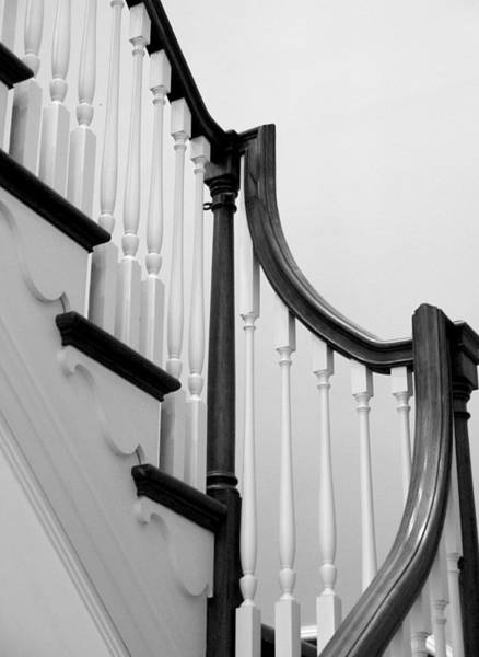 Photograph - Winterthur - Cottage Stairs by Richard Reeve