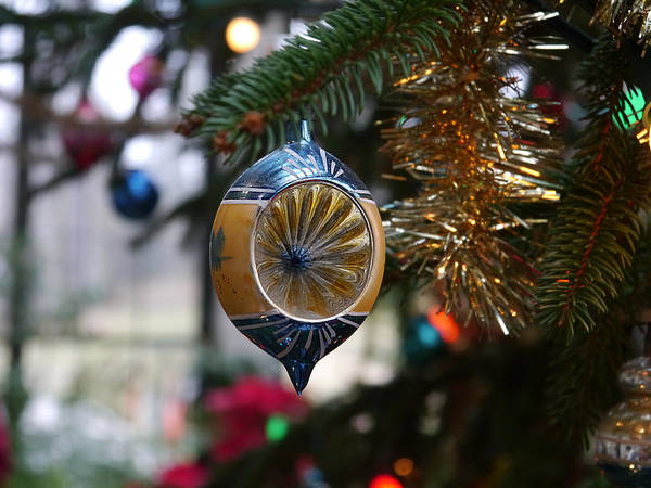 Photograph - Winterthur - Glass Tree Ornament  by Richard Reeve