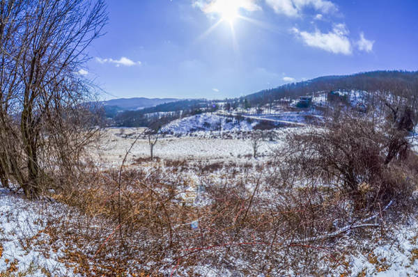 Photograph - Wintery Landscape In The Mountains On A Sunny Day by Alex Grichenko