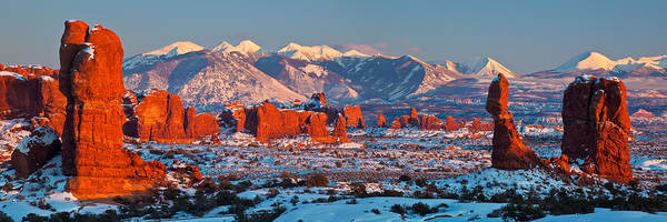 Wall Art - Photograph - Wintry Arches Panorama by Guy Schmickle