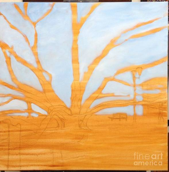 Painting - Wip Banyan Tree 1 by Darice Machel McGuire