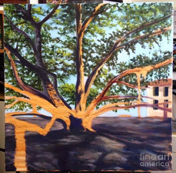 Painting - Wip Banyan Tree 3 by Darice Machel McGuire