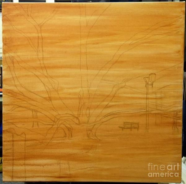 Painting - Wip Banyan Tree by Darice Machel McGuire