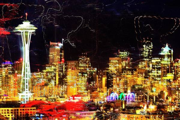 Wall Art - Photograph - Wired Seattle by Benjamin Yeager