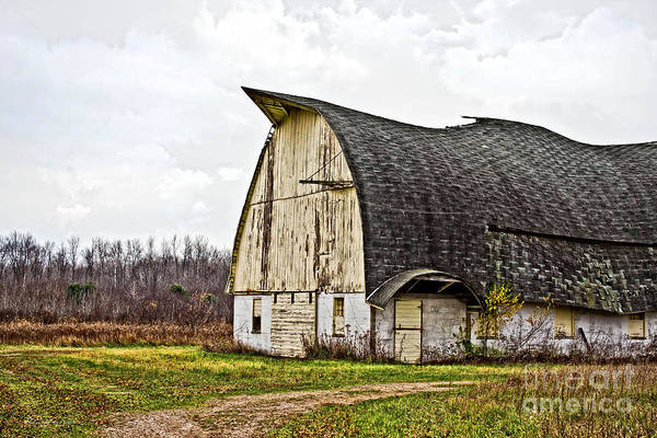 Photograph - Wisconsin Old Barn 1 by Ms Judi