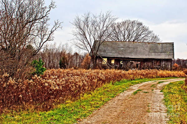 Photograph - Wisconsin Old Barn 2 by Ms Judi