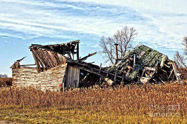 Photograph - Wisconsin Old Barn 6 by Ms Judi