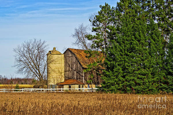 Photograph - Wisconsin Old Barn 8 by Ms Judi