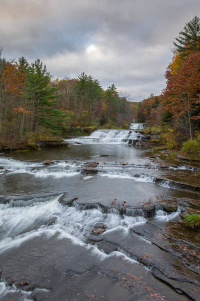 Photograph - Wiscoy Falls 7k03015 by Guy Whiteley