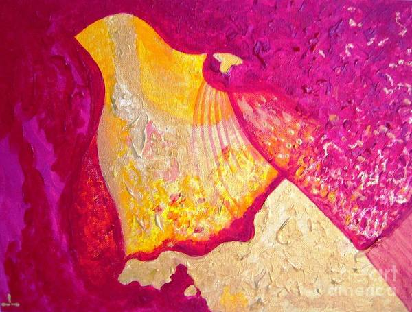Painting - Wisdom And Love by Ilona Svetluska