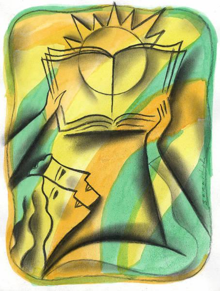 Research Painting - Wisdom by Leon Zernitsky