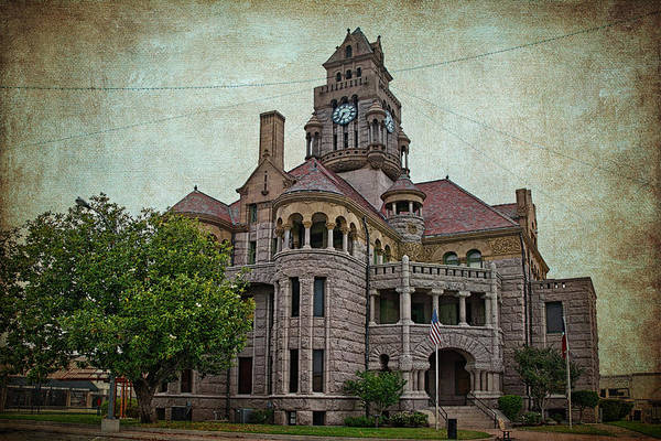 Photograph - Wise County Courthouse by Joan Carroll