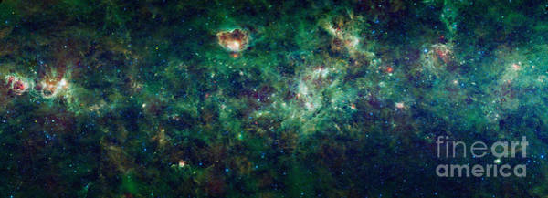 Photograph - Wise Mosaic Of The Milky Way by Science Source