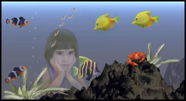 Dehner Digital Art - Wish I Could Swim by David Dehner