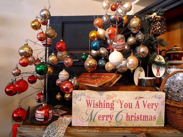 Photograph - Wishing You A Very Merry Christmas by Richard Reeve