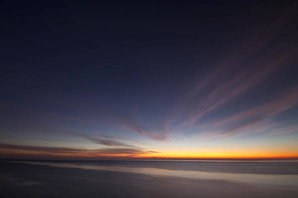 Photograph - Wispy Cirrus Clouds At Dawn by Sven Brogren