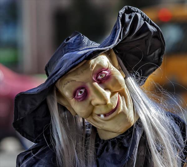 Witch Halloween Decoration Art Print