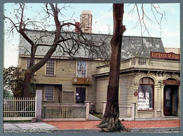 Trial Wall Art - Photograph - Witch House by Library Of Congress