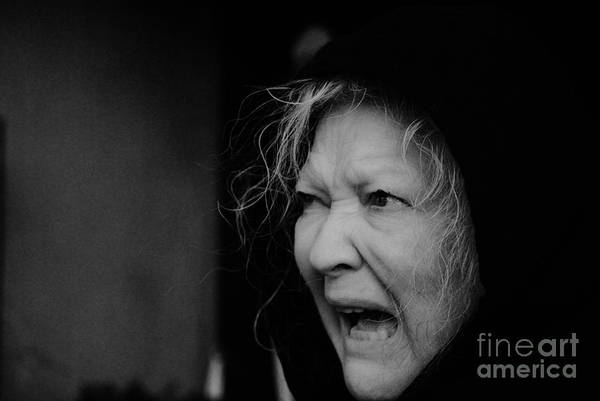 Life Or Death Photograph - Witch by Leo Sopicki