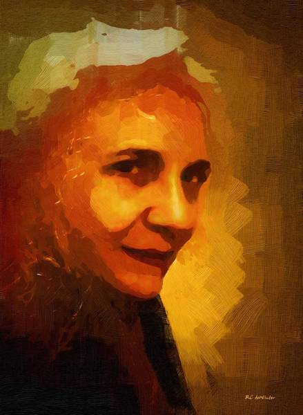 Painting - Witch Of Winter by RC DeWinter