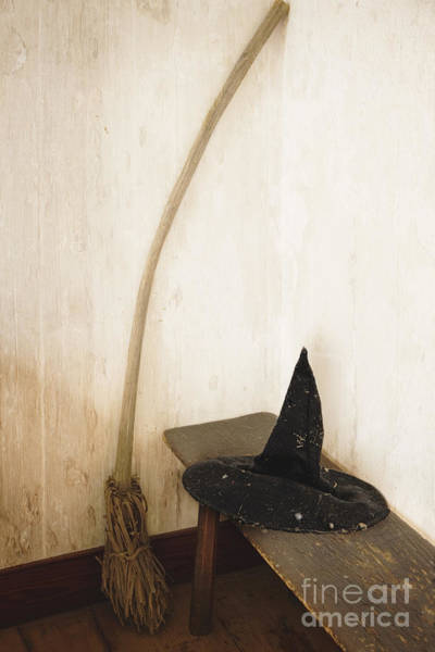 Wizard Hat Wall Art - Photograph - Witch's Corner by Margie Hurwich