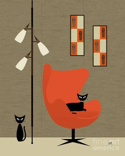 Digital Art - Witco Tikis by Donna Mibus