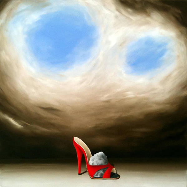 Painting - With A Stone In My Shoe by Ric Nagualero