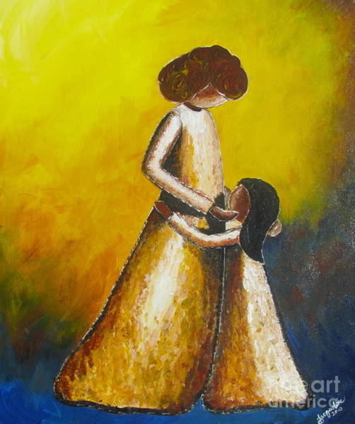 Painting - With Her by Jacqueline Athmann