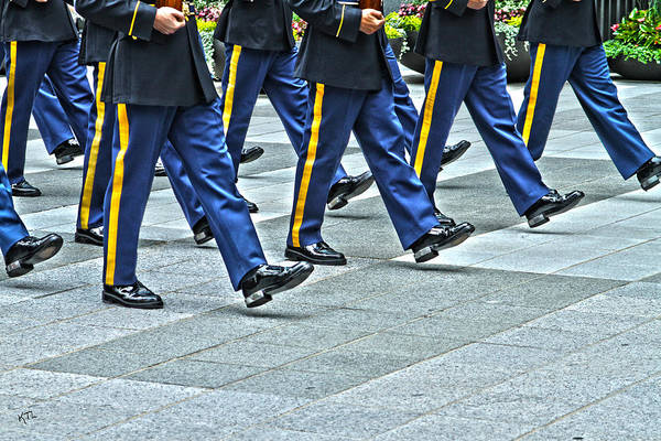 Honor Guard Photograph - With Honor by Karol Livote