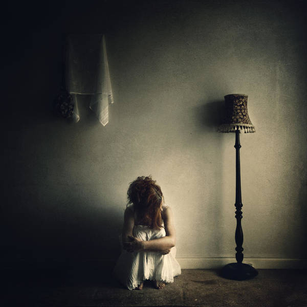 Sorrow Photograph - With No Answer... by Magdalena Russocka