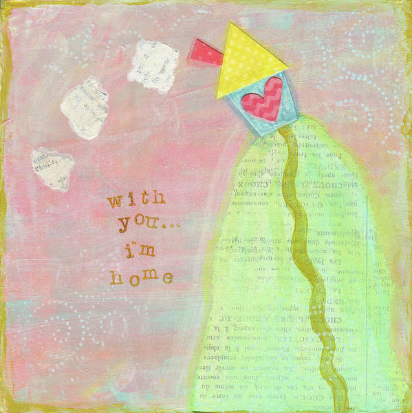Wall Art - Painting - With You, I'm Home by Alli Rogosich