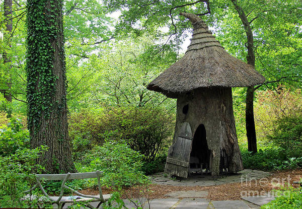 Photograph - Witch's Hat House At Winterthur by Karen Adams