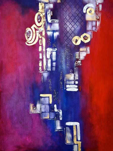 Wall Art - Painting - Within by Debi Starr