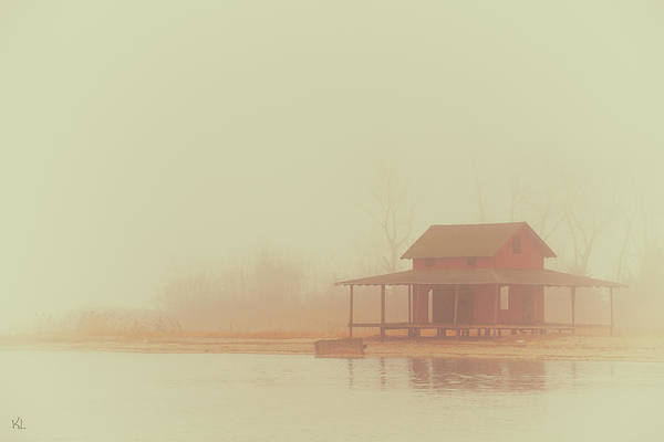 Desolation Photograph - Within The Fog by Karol Livote