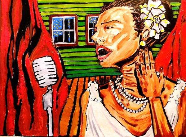 Free Jazz Painting - Within These Walls 2 by Patrick Ficklin