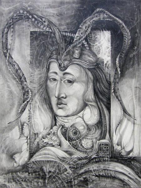 Wizard Of Bogomil's Island - The Fomorii Conjurer Art Print