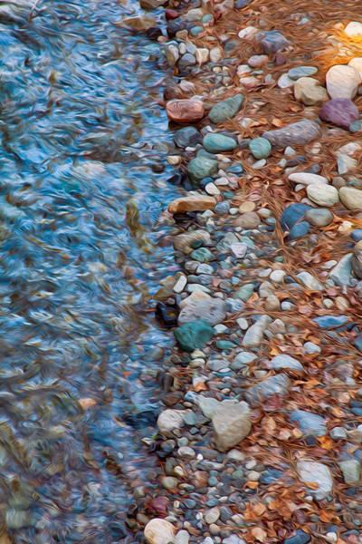 Painting - Wolf Creek Downstream by Omaste Witkowski
