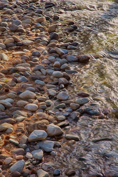Painting - Wolf Creek Upstream by Omaste Witkowski