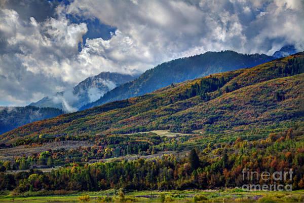 Wall Art - Photograph - Wolf Mountain Autumn by Brenton Cooper